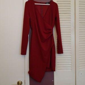 3bea76c7a5b7 Lulu's Dresses | Lulus Crimson Red Dress | Poshmark